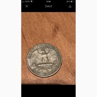 Quarter dollar 1966 года