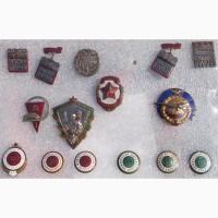 Значки спорт и прочие, коллекция