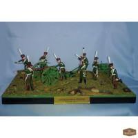 Оловянная миниатюра Войны 1812г, 227 шт, 9шт le cimier
