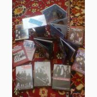 Коллекция лицензионных DVD дисков, с книгами, буклетом и копией билета на концерт