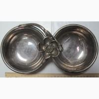 Икорница, тяжелый металл, серебрение, Франция