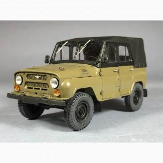 Модель УАЗ-469, масштаб 1:35