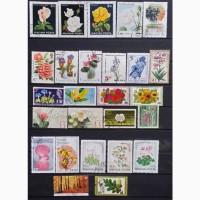 Продам почтовые марки тематика Флора