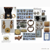 Коллекция античных монет и предметов