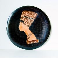 Нефертити медь чеканка Сирия 1972 год