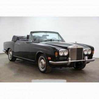 1971 Rolls-Royce Corniche Convertible