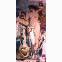 Точная копия картины Фрида на Посейдонии в Элевсине