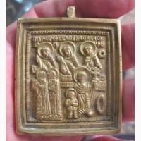 Медная икона Святая Прасковея, реплика