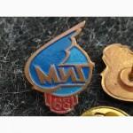 Фрачный знак. Значок. 60 лет МИГ. Тяжелый металл