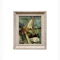 Продается Картина Porte de peche. G.Lapchine 1920-1930-е годы