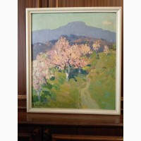 Продам картину Миндаль зацвел 70 - годы 20 в