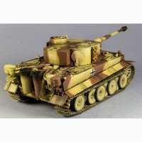Модель танка Pz. VI Tiger в масштабе 1:35