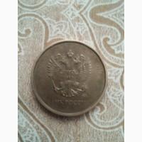 Продам монеты одна 5 рублей 1997 года а другая 10 рублей 2016