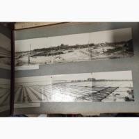 Фотоальбом Наркомата водного транспорта Строительство Астраханского слипа 1932-1934 год