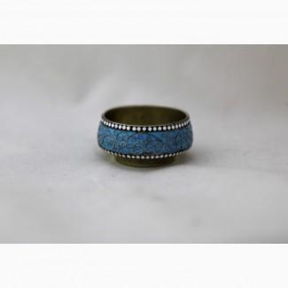 Продается Серебряная солонка с эмалью по скани. Москва 1890-1908 гг