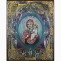 Продается Храмовая икона Божией Матери Неопалимая Купина. Конец XIX века