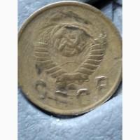 Бракованая в монеты 2 коп 1949 года