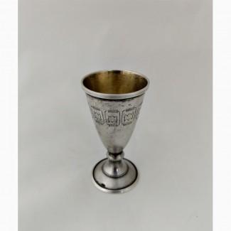 Продается Серебряная рюмка в стиле модерн 20 мл. СССР 1967 год