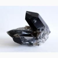 Морион, сросток кристаллов 1