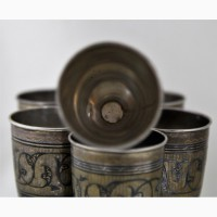 Продается Комплект рюмок 60 мл. Кубачи 1927-1955 гг
