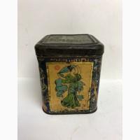 Старинная жестяная коробка из под чая Т-во Петра Боткина и сыновей в Москве