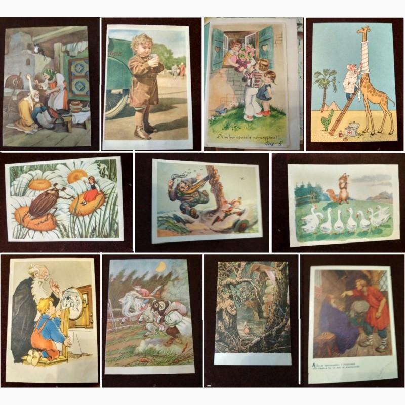 Продам открытки для коллекции