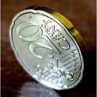 Монета 20 евро центов 2002 год