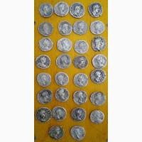 Серебряные древнеримские денарии, коллекция 30 монет, Древний Рим