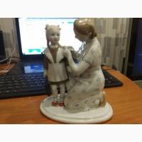 Фарфоровая статуэтка #039;#039;Первый раз в школу#039;#039; 50е года ЛФЗ
