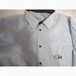 Винтажная мужская рубашка СССР воротник 44
