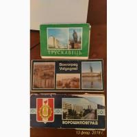 Советские наборы открыток советских городов