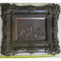 Бронзовая рама для картины, 19 век