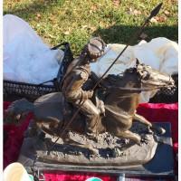 Бронзовая скульптура Донской казак, Лансере, копия