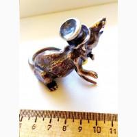 Серебряная фигурка Король Крыс, серебро 84 пр, копия