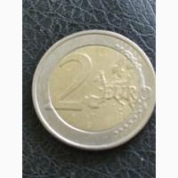 Монеты Евро, много