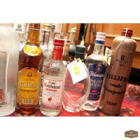 Коллекция водок, 78 бутылок