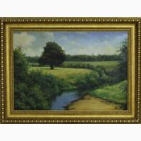 Продается Картина Пейзаж. Самарская обл. 2001 год