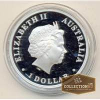 1 доллар 2010 Австралия серебро Пруф, Екатеринбург