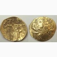 Продам монеты. Гиперперон. Византия. Иоанн lll. 1222-1254г