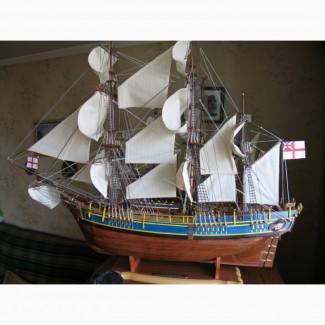 Продам модель парусника Bounty
