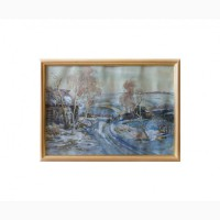 Продается Картина Зима в деревне Гайнуллин К.Ю. Тольятти 2006 год