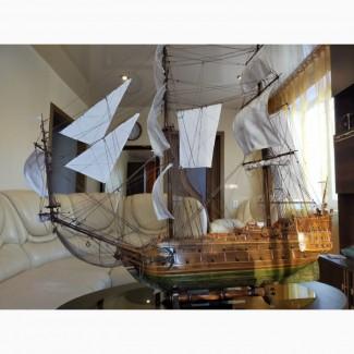 Корабль ручной работы Бригантина Луиза