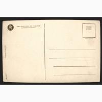 Редкая открытка. Модерн. « Губы говорят да!» 1901 год
