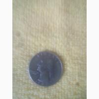 Продам монету Либерти 25 центов 1987г