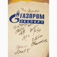 Продам футболку с автографами легенд советского хоккея: Якушев, Макаров, Каменский и др