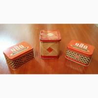 Продам жестяные баночки из под чая