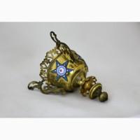 Продается Подвесная латунная лампада. Конец XIX начало XX века