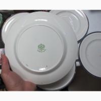 Фарфоровые тарелки 6 шт, комплект Кузнецова