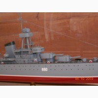 Продам модель корабля :крейсер Киров
