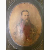 Портрет Святой праведный Иоанн Кронштадтский начало ХХ века